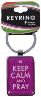 keyring_keep_calm_and_pray