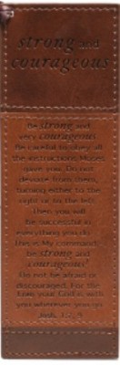luxleather_pagemarker_strong_and_courageous