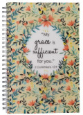 notebook_my grace_is_sufficient