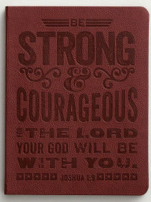 journal_be_strong_&_courageous
