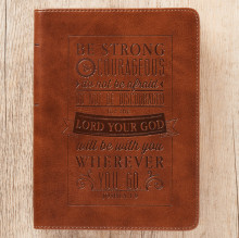 journal_be_strong_and_courageous